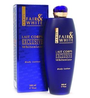 Fair and White Exclusive Whitenizer lotion.jpg