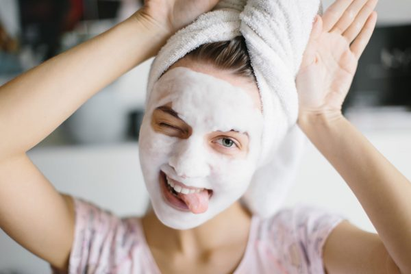 various type of skin care mask